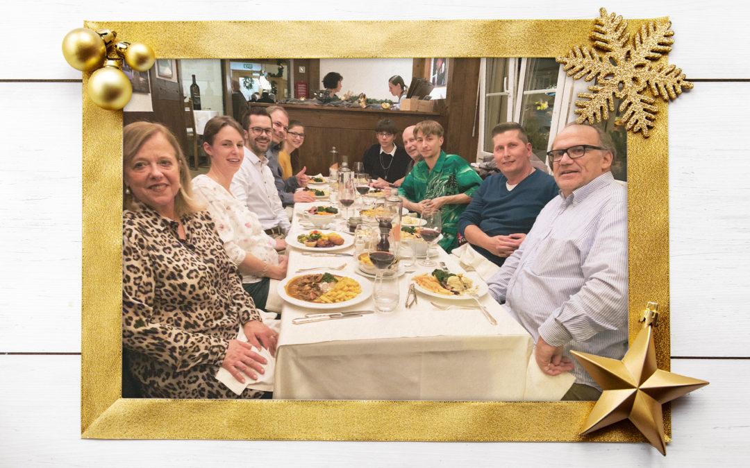 Weihnachtessen 2018 in der Linde Weiningen.